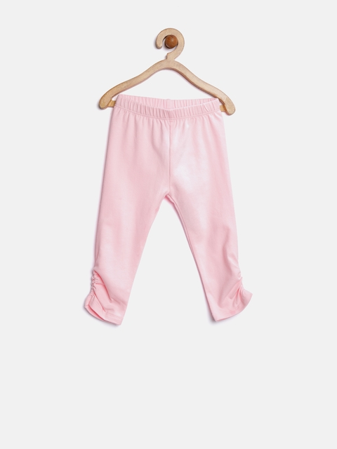 The Childrens Place Girls Pink Leggings