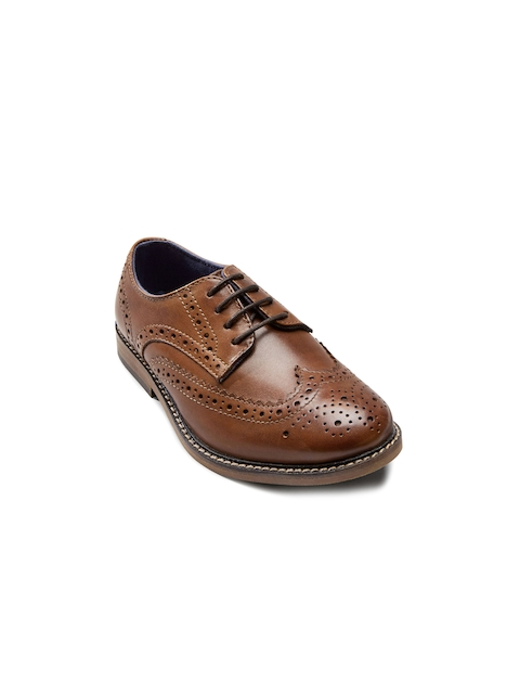 next Boys Tan Brown Brogues