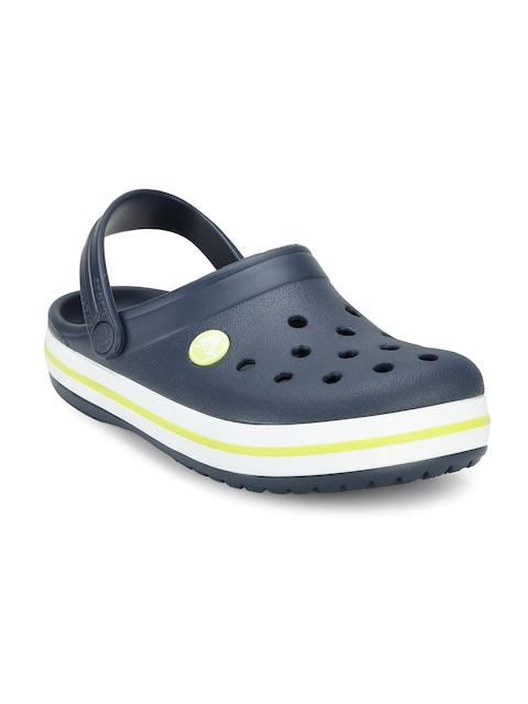 Crocs Boys Navy Clogs