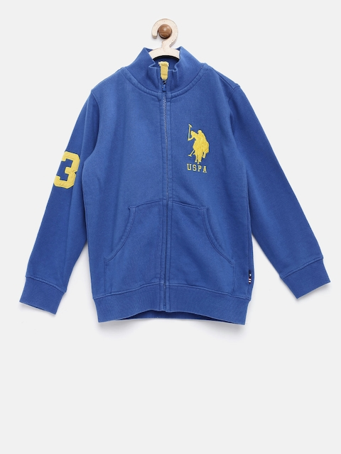 U.S. Polo Assn. Kids Boys Blue Sweatshirt