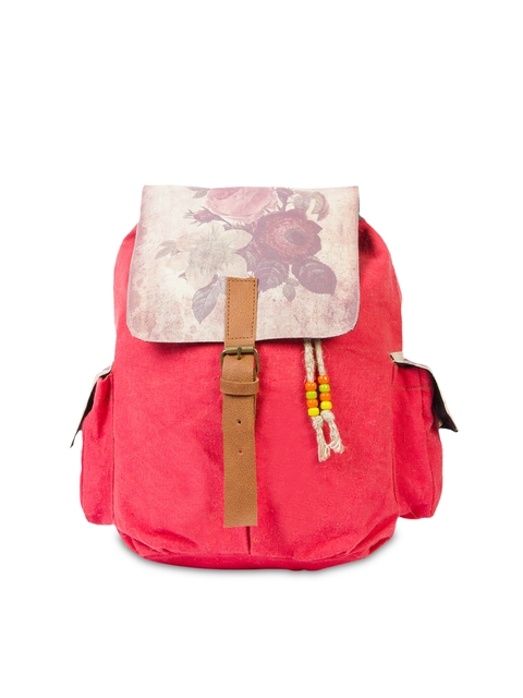 The House of Tara Unisex Coral Red Backpack