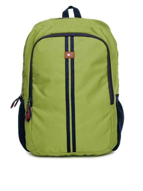 Tommy Hilfiger Unisex Green & Navy Backpack