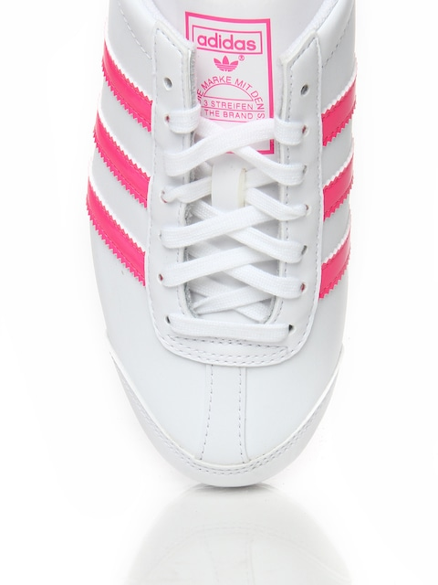 Adidas Originals Women White Aditrack Running Shoes Sports For 370470 Myntra