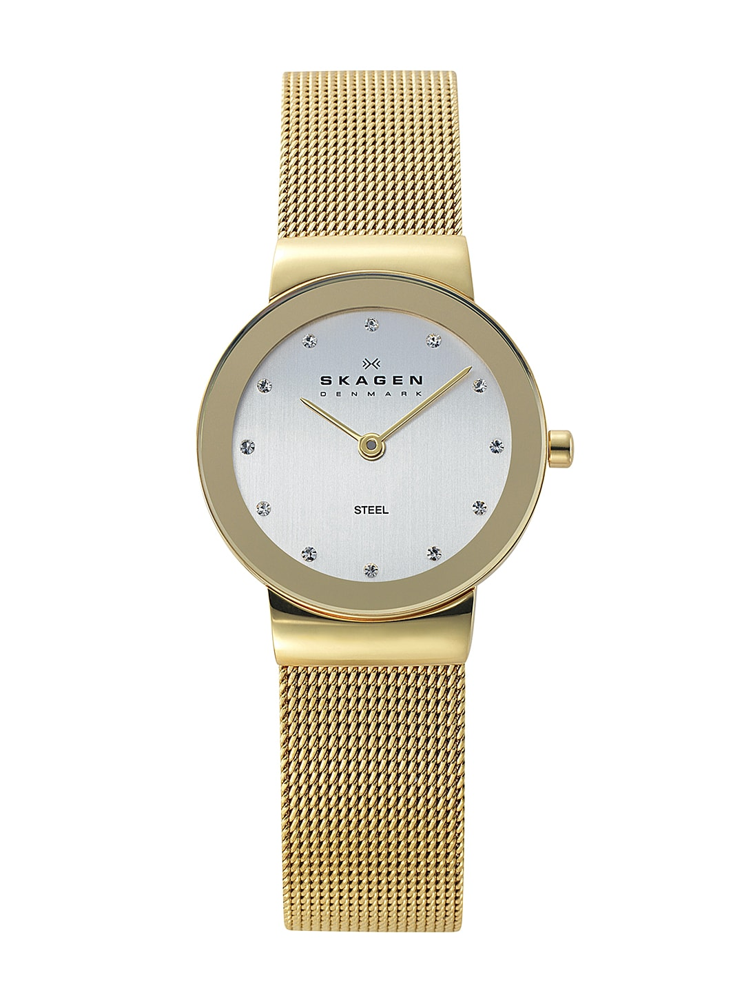 SKAGEN DENMARK Women White Dial Watch 358SGGDI
