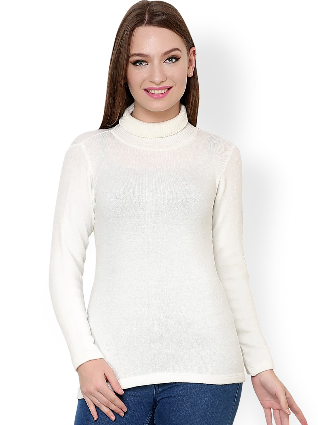484deb93d0 White Sweaters - Buy White Sweaters online in India