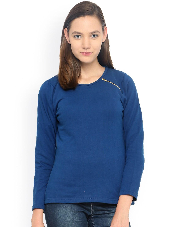 Vvoguish Blue Sweatshirt