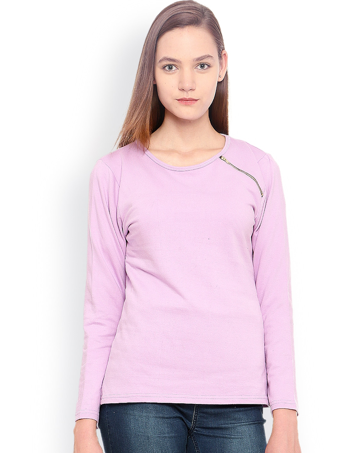 Vvoguish Purple Sweatshirt