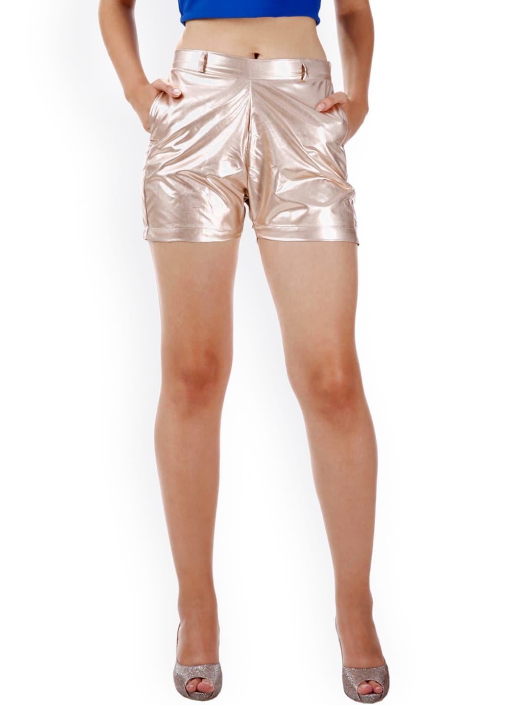 Miss Chase Gold-Toned Shorts