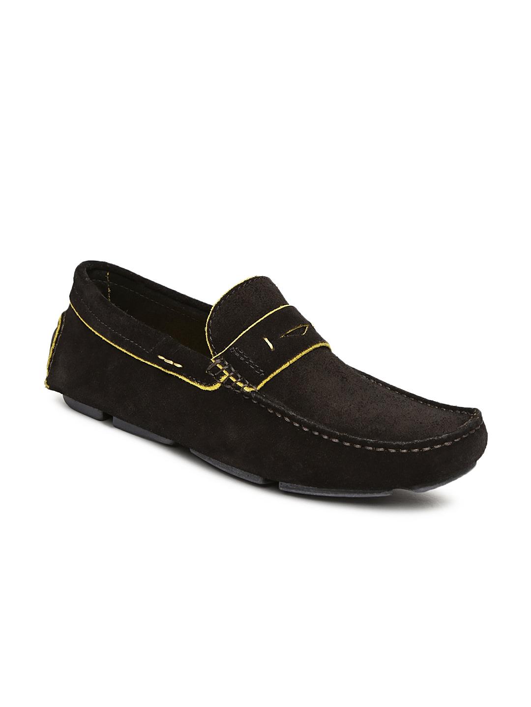 Language Men Dark Brown Loafers
