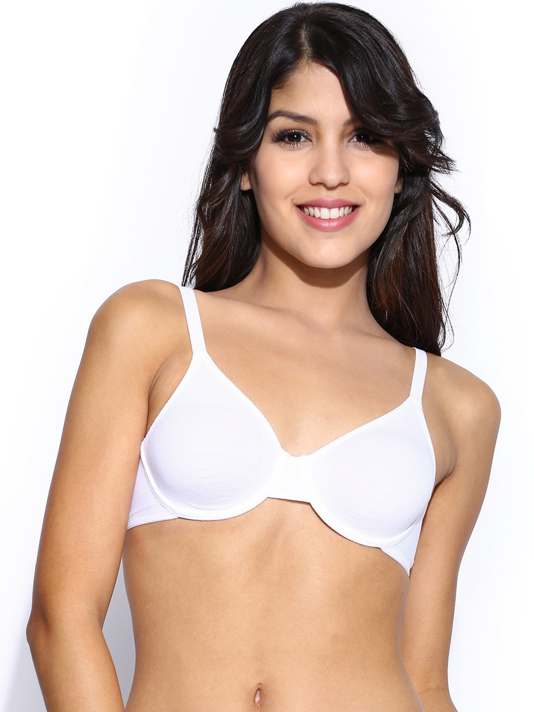 Triumph White Full-Coverage Bra 29I517