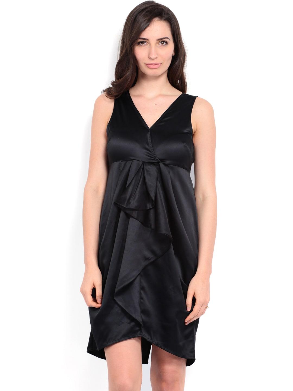 Vero Moda Black Lyngholm Fit & Flare Dress