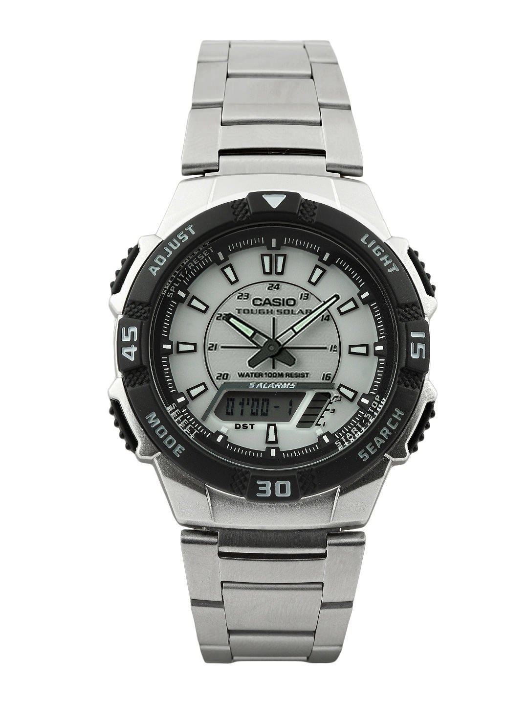 Casio Men Grey Analogue & Digital Watch AD171