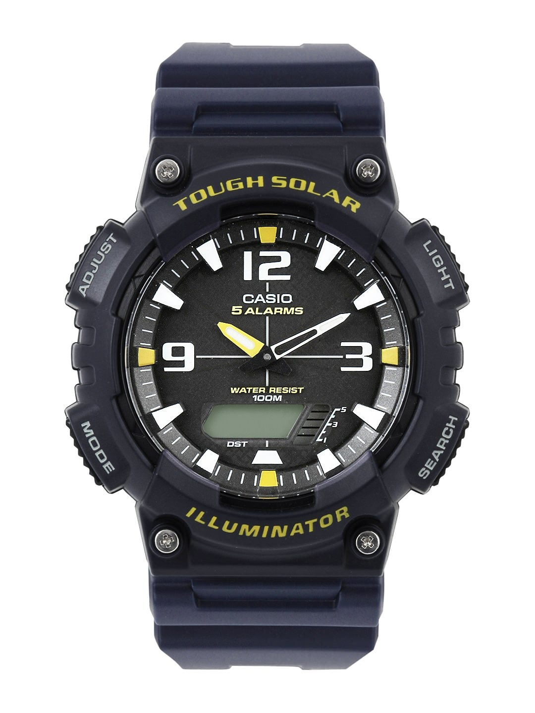 Casio Men Navy Analogue & Digital Watch AD174-BLACK-250979