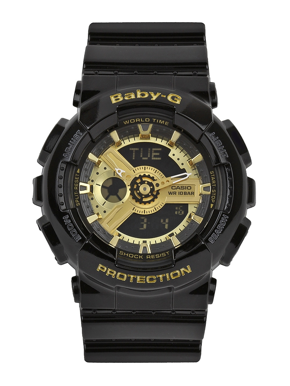 CASIO Baby-G Women Black Analogue & Digital Watch BX015