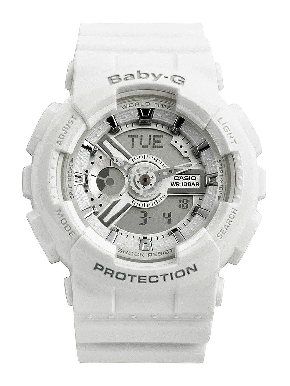 Casio Baby-G Women White Analogue & Digital Watch