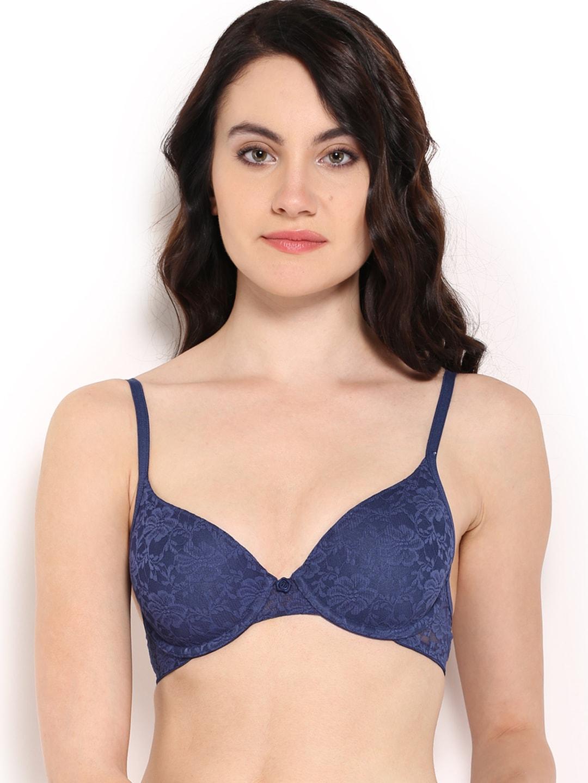 ad52dc16d6 Blue Bra