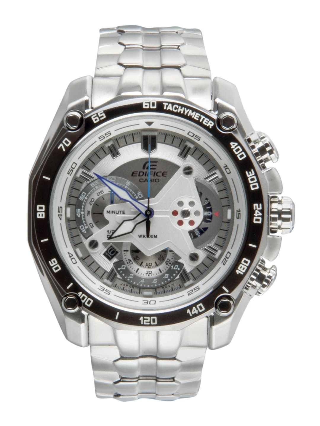 CASIO Edifice Men Chronograph Grey Dial Watch ED391