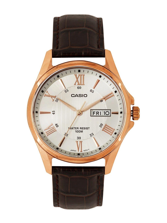 Casio Enticer Men White Dial Watch A882