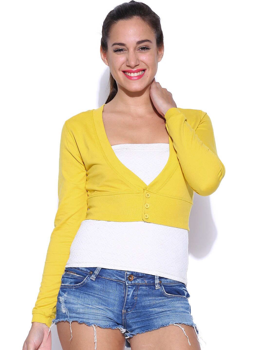 Kook N Keech Yellow Shrug
