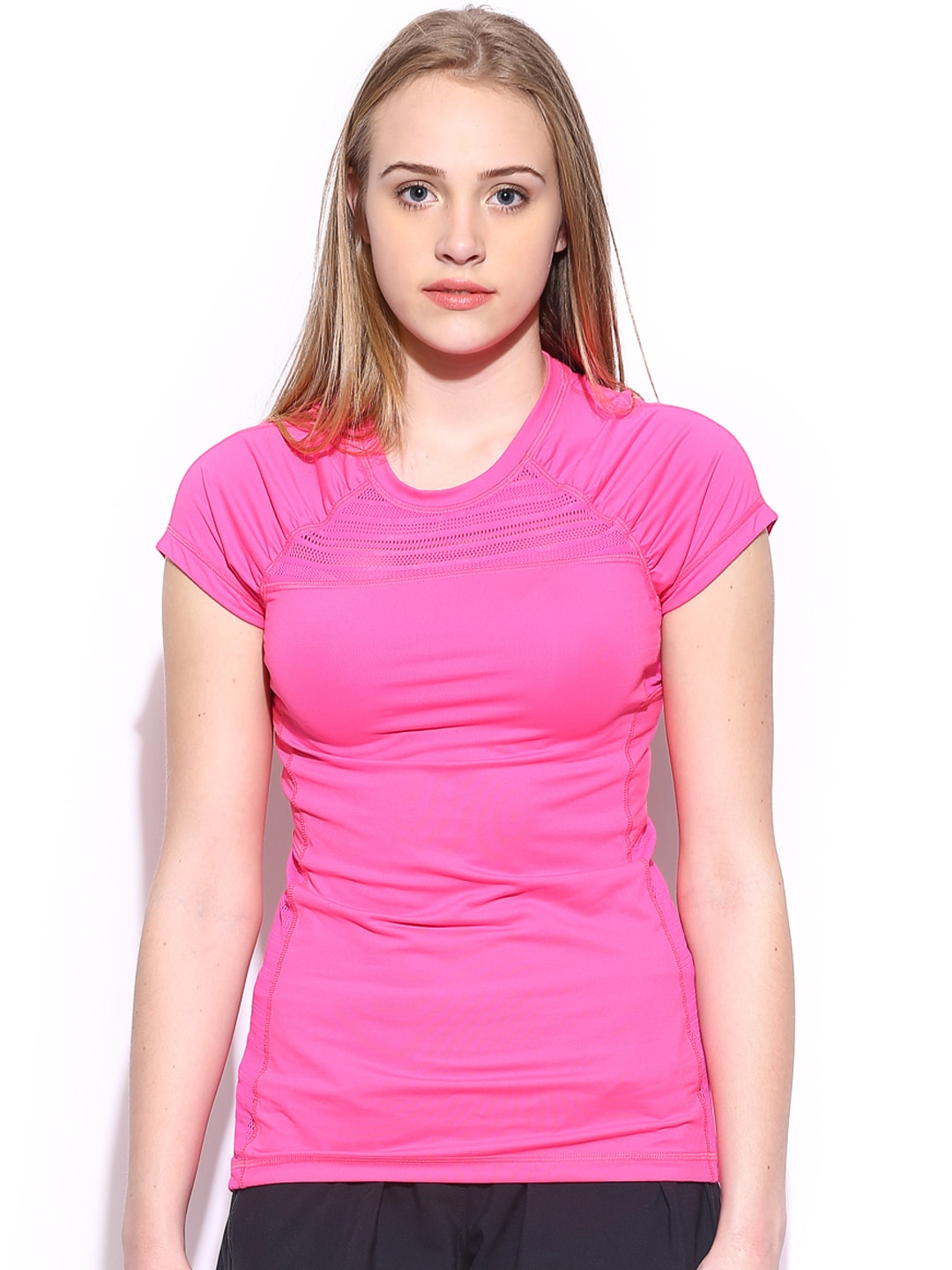 Roxy Roxy Women Pink Endurance T-Shirt (Multicolor)