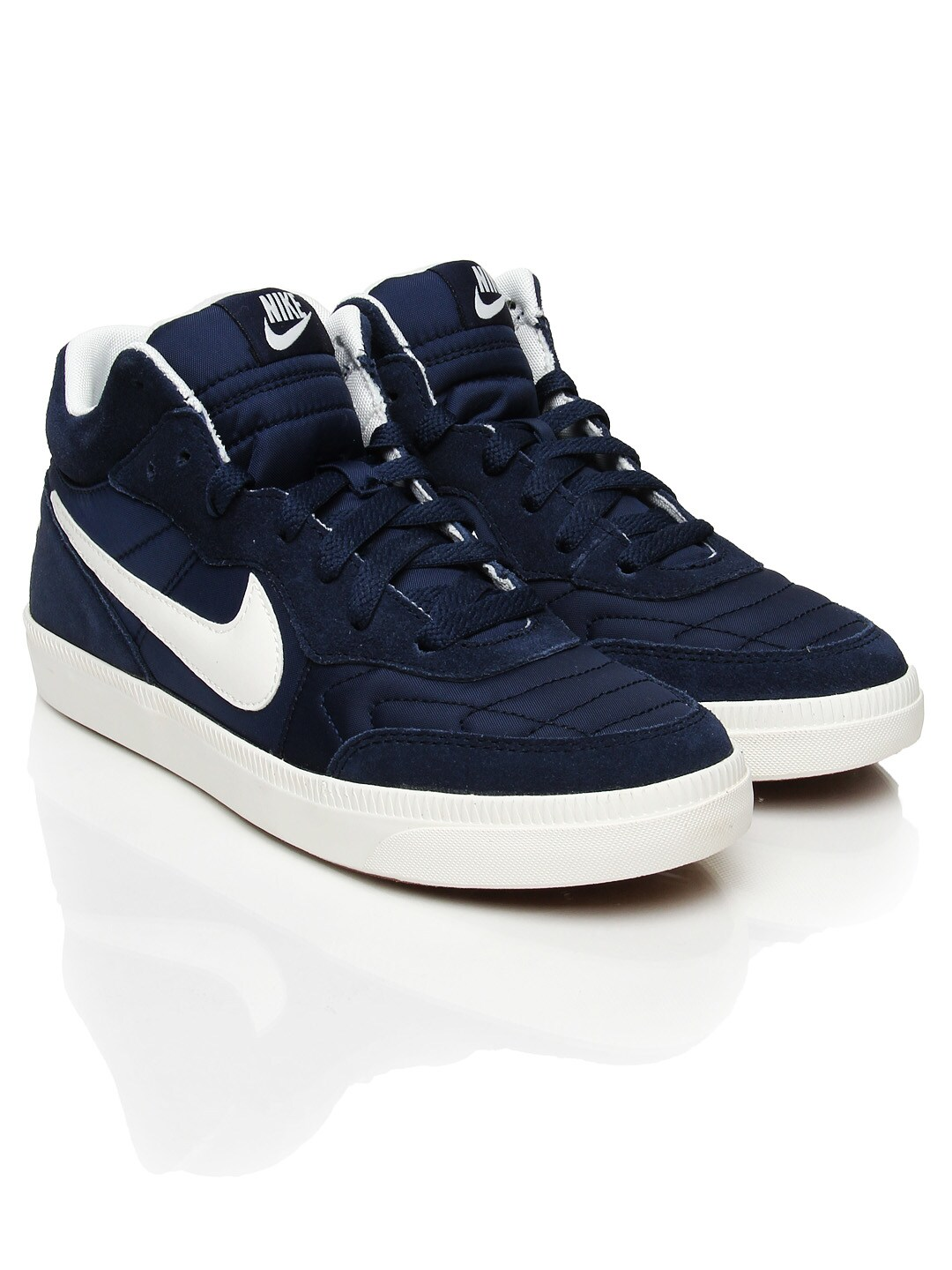 Buy Nike Green Tiempo Trainer Mid NSW Casual Shoes - Casual Shoes ...