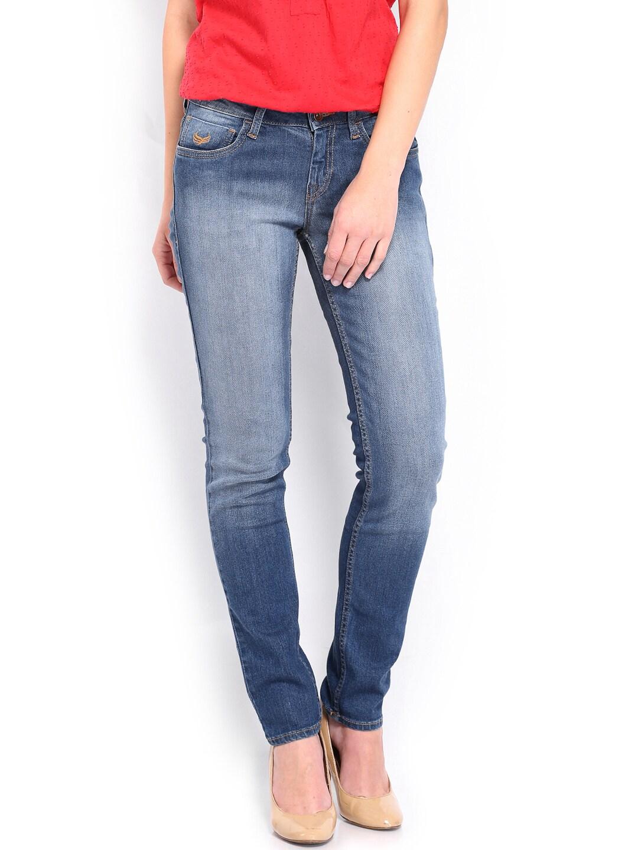 Flying Machine Women Blue Veronica Skinny Fit Jeans