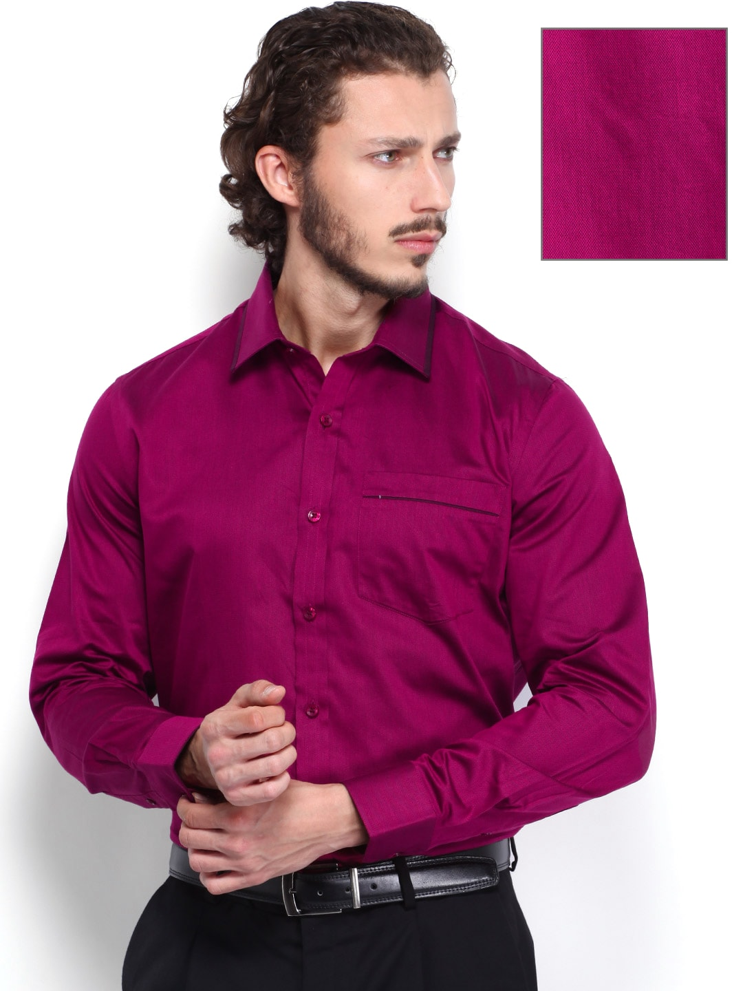 dark pink mens shirt artee shirt