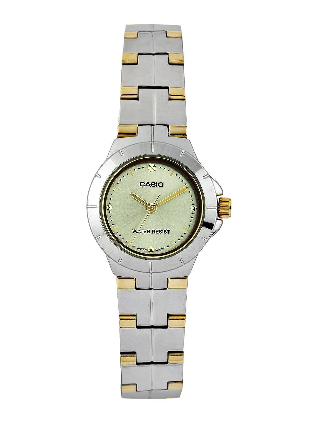Casio Enticer Women Muted Gold-Toned Dial Watch A908