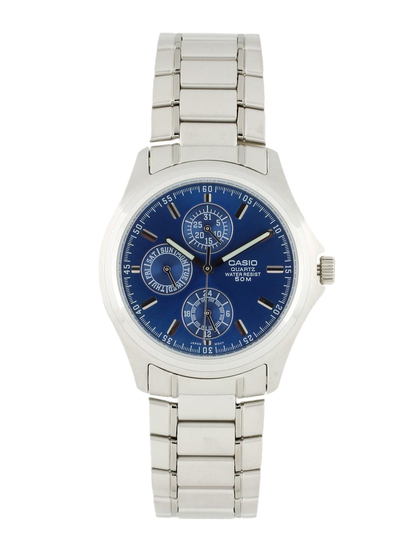 CASIO Men Blue Dial Watch A387