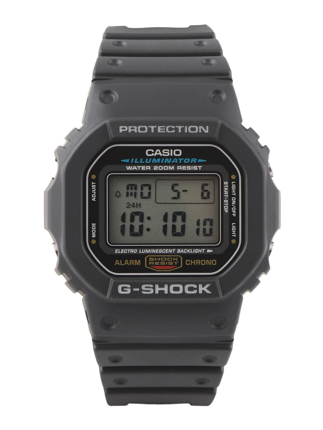 Casio Men Grey Digital Watch G001