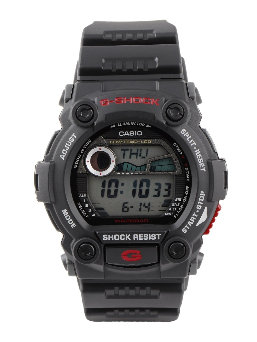 CASIO Men Black Digital Watch G260