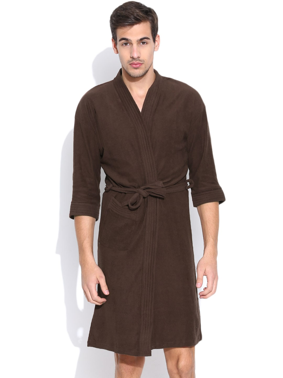 Sand Dune Brown Bathrobe