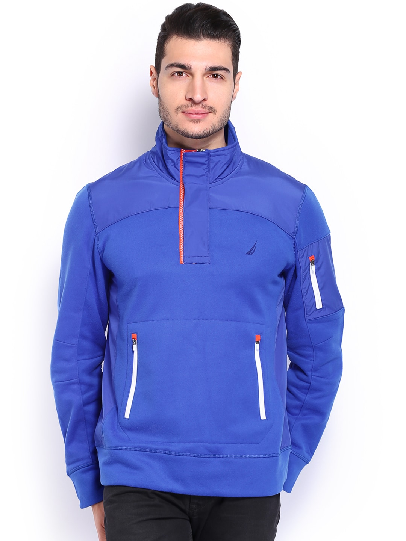 Nautica Men Blue Sweatshirt