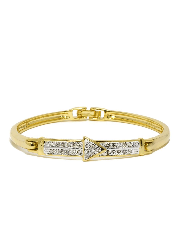 Estelle Estelle 24-Carat Gold-Plated Bracelet (Yellow)