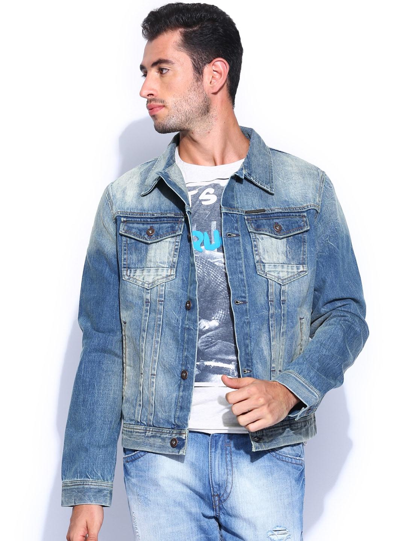 Pepe Jeans Men Denim Jacket