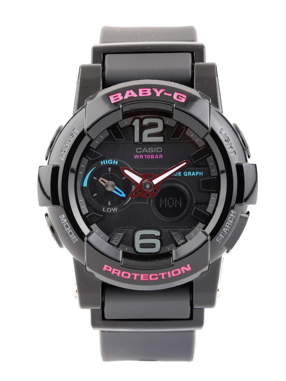 Casio Baby-G Women Black Analogue & Digital Watch BX028