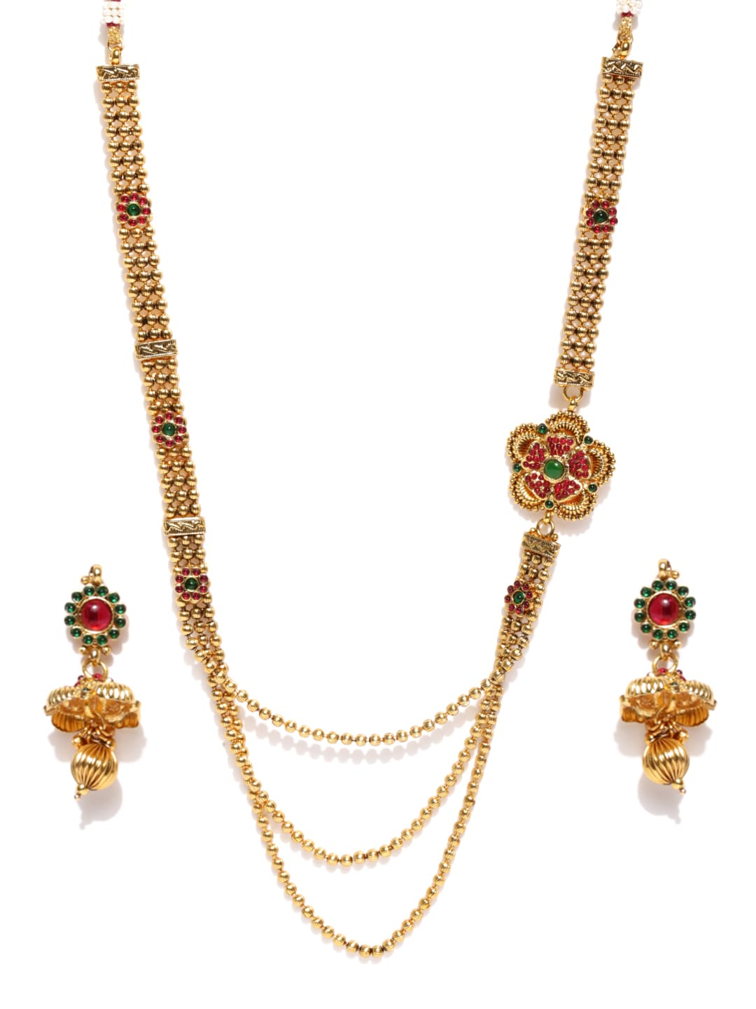 Sukkhi Gold-Plated Jewellery Set