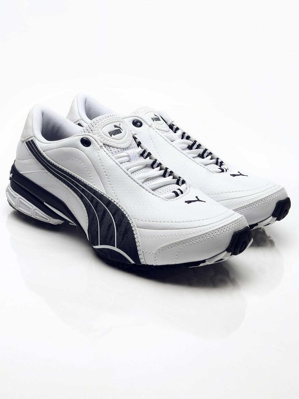 Puma White Shoes Myntra
