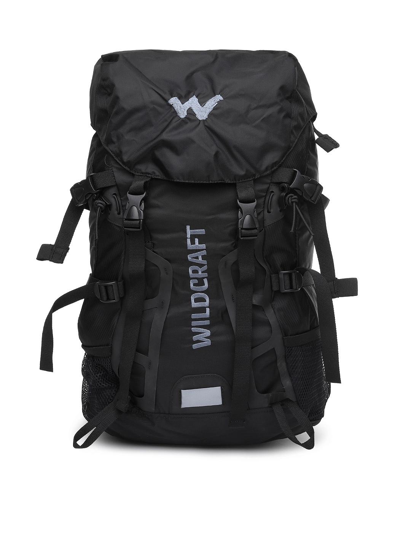 Wiki by Wildcraft Unisex Black Traya Rucksack