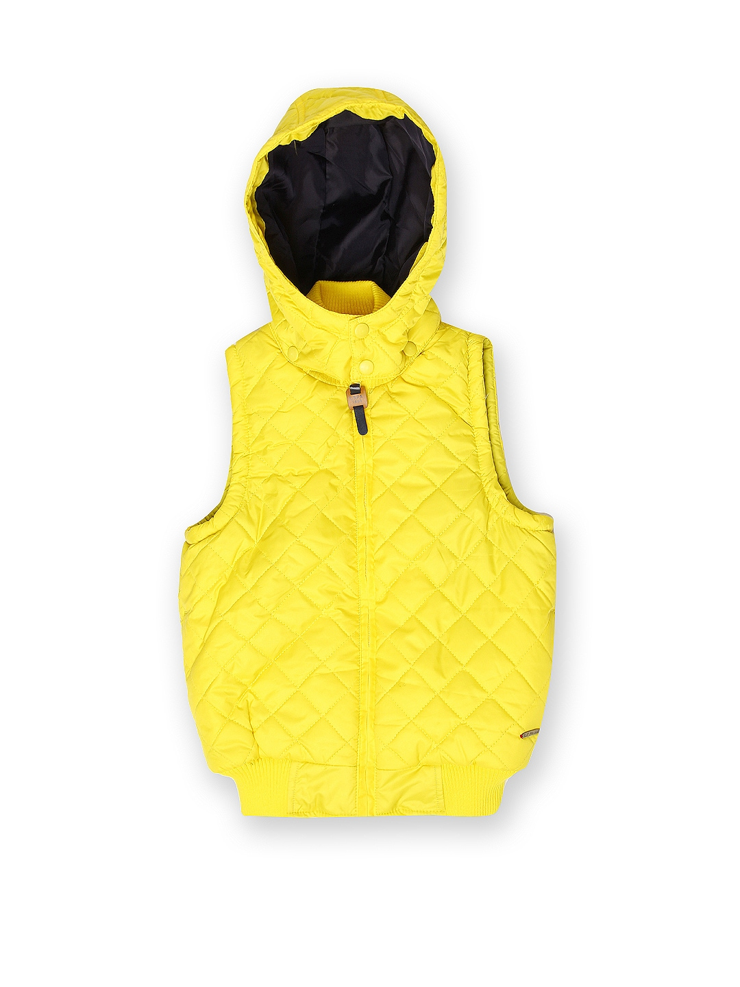 U.S. Polo Assn. Kids Boys Yellow Hooded Jacket
