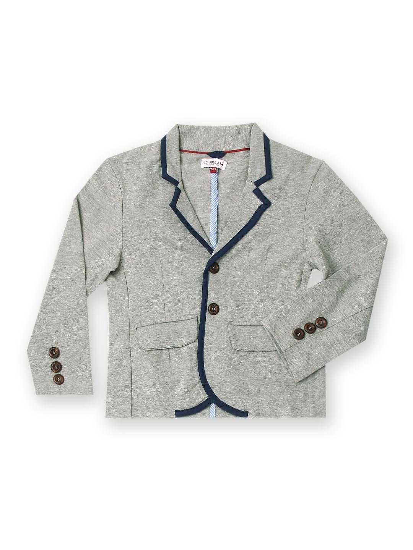 U.S. Polo Assn. Kids Boys Grey Coat