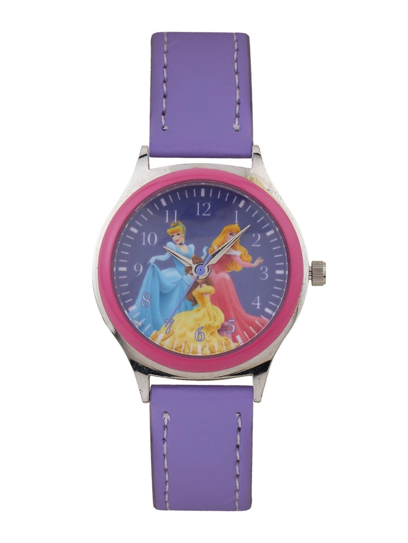 Disney Disney Girls Purple Dial Watch AW100228 (Violet)
