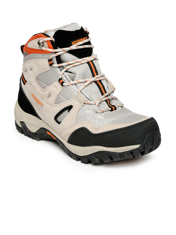 Wildcraft Men Beige & Black Amphibia Track Trekking Shoes