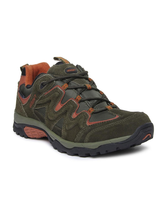 Wildcraft Men Olive Green Amphibia Stride Outdoor Adventure Shoes