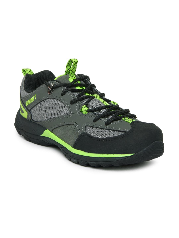 Wildcraft Men Grey Craggo Trail Outdoor Adventure Shoes