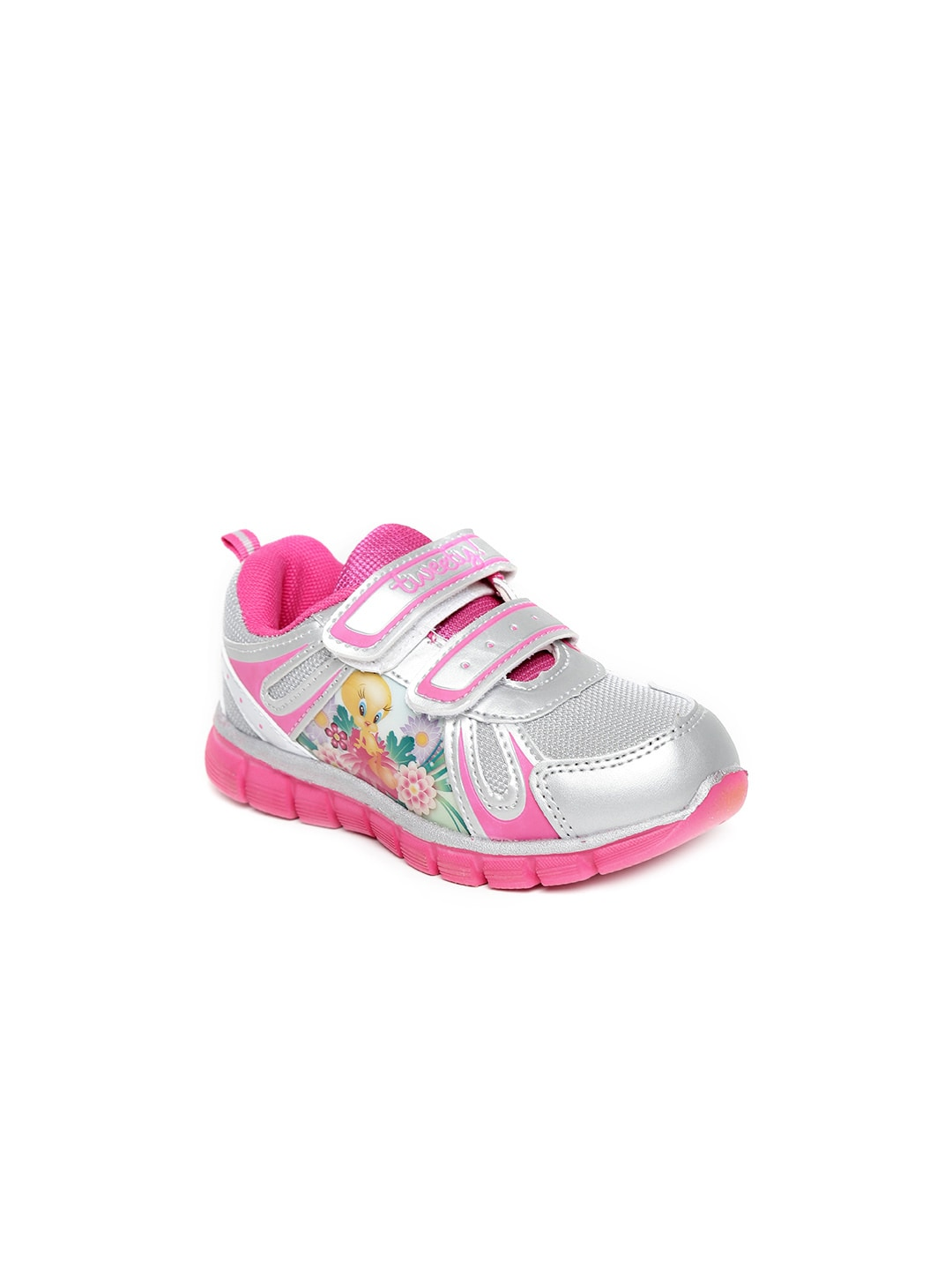 Tweety Tweety Kids Silver-Toned Casual Shoes