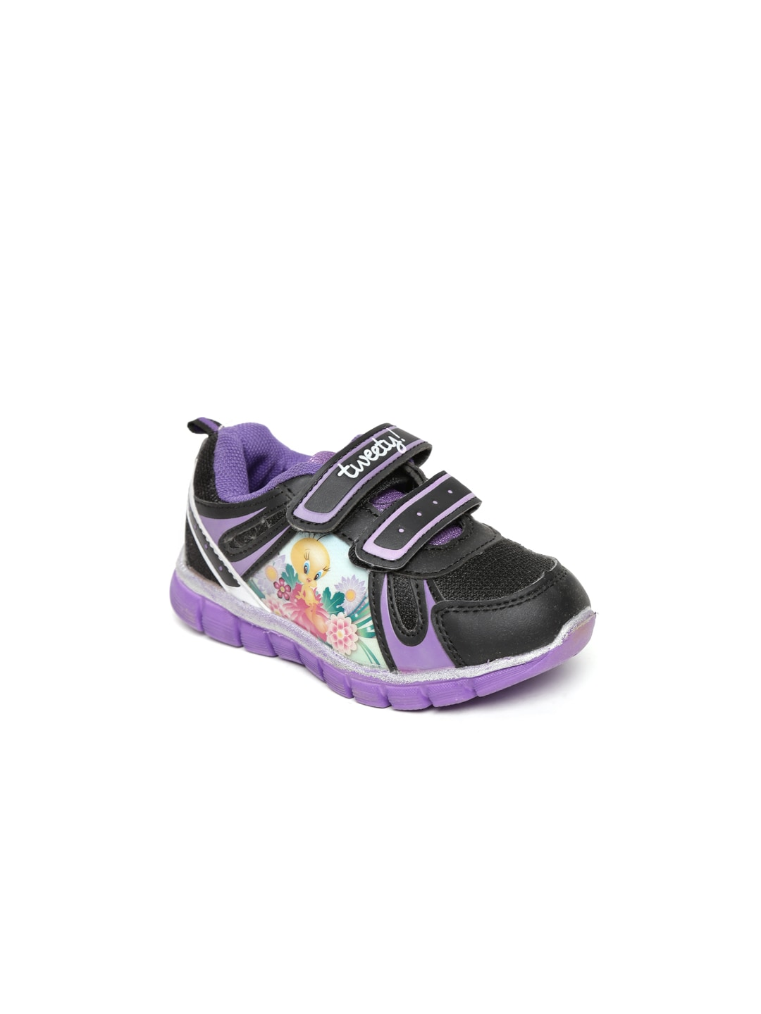 Tweety Tweety Kids Black Casual Shoes