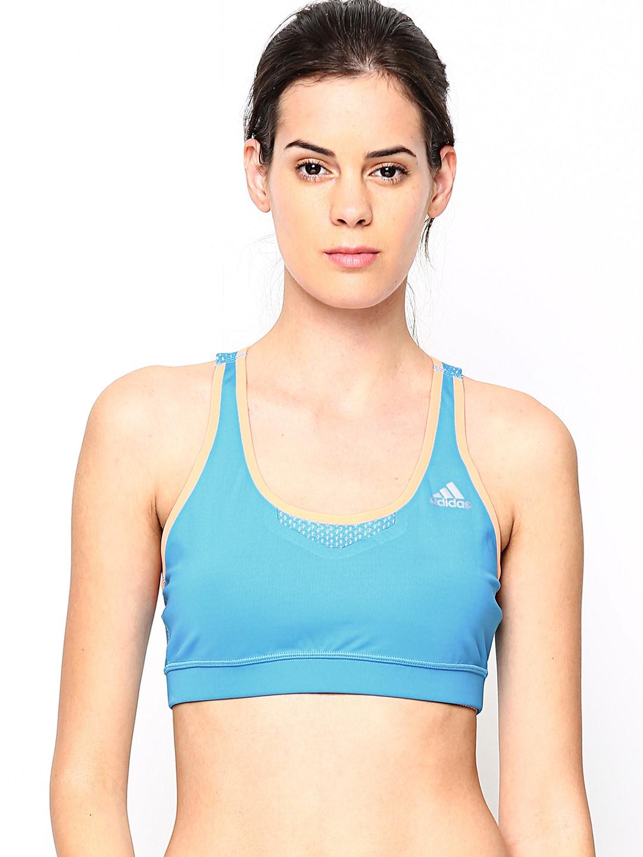 Adidas Adidas Blue TF Bond Sports Bra D88903