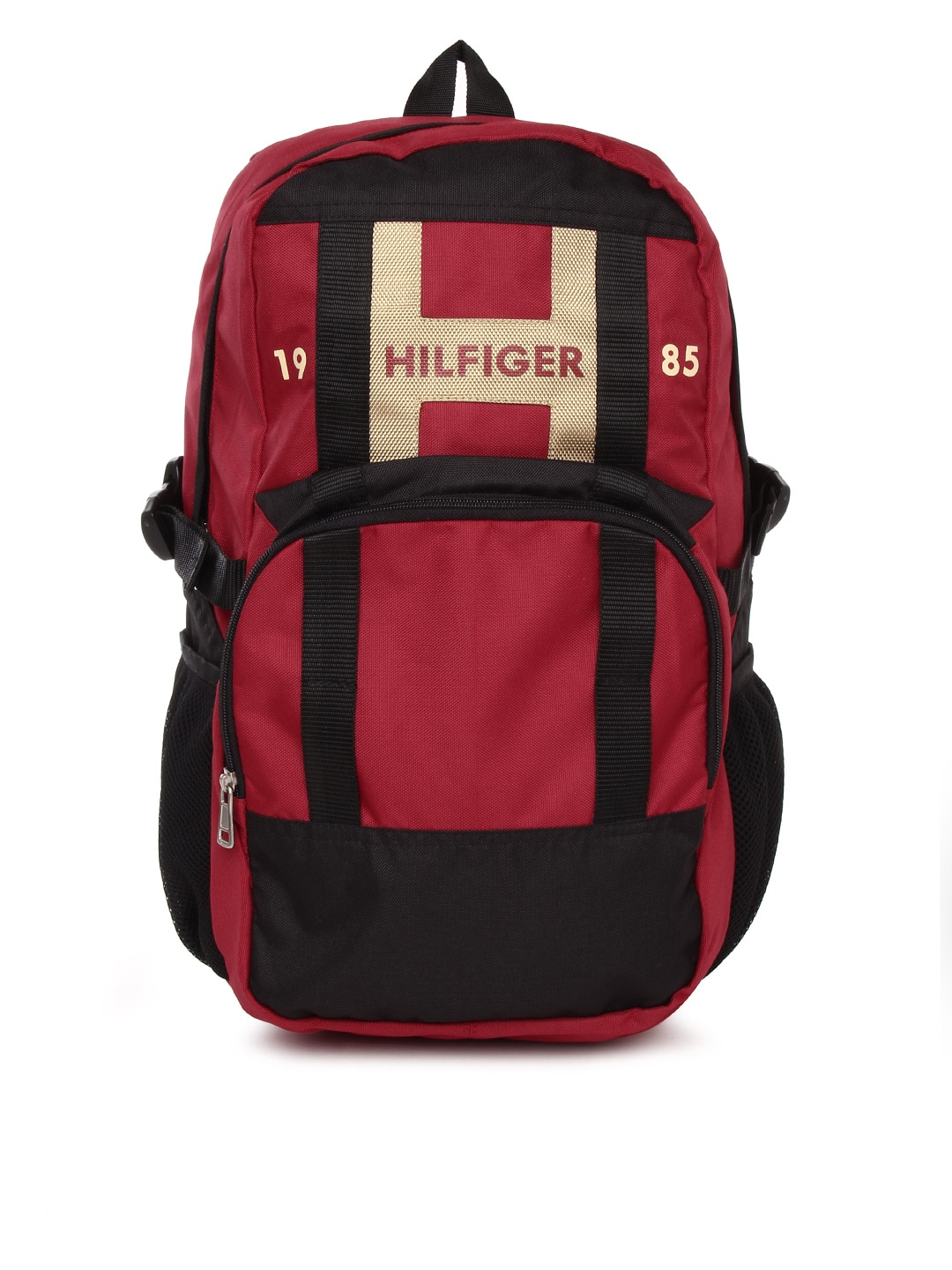 Tommy Hilfiger Unisex Red Biker Club Backpack