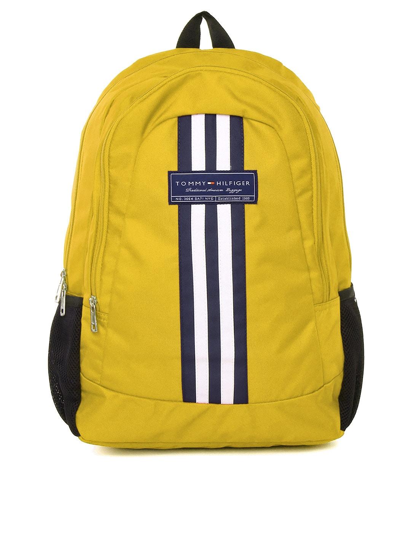 Tommy Hilfiger Unisex Yellow Biker Club Stapleton Backpack
